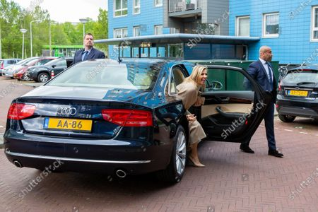 Editorial photo of Queen Maxima to the Drentheplantsoen residential care, The Hague, Netherlands - 14 May 2020