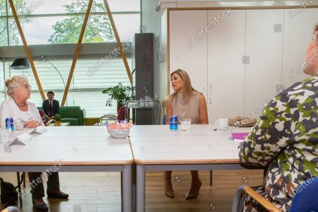 Editorial picture of Queen Maxima to the Drentheplantsoen residential care, The Hague, Netherlands - 14 May 2020