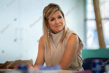 Queen Maxima to the Drentheplantsoen residential care, The Hague