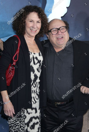 Stock Image of Rhea Pearlman and Danny DeVito