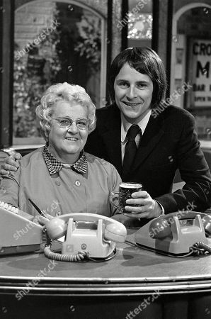Amy Turtle, as played by Ann George, and Vince Parker, as played by Peter Brookes