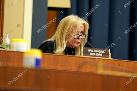 """Editorial image of Subcommittee on Health of the US House Committee on Energy and Commerce hearing titled """"Protecting Scientific Integrity in the COVID-19 Response, Washington, District of Columbia, USA - 14 May 2020"""