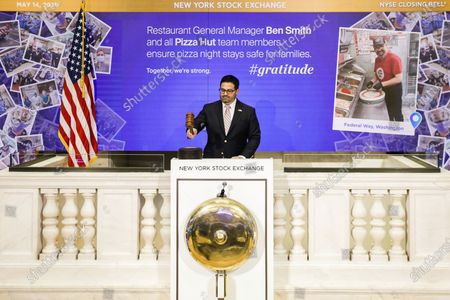 Editorial image of Stock Exchange Gratitude Campaign, New York, United States - 14 May 2020