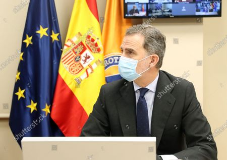 Stock Photo of King Felipe VI
