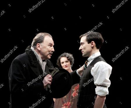 Michael Elwyn (Sir Johnstone Kentley), Phoebe Waller-Bridge (Leila Arden), Blake Ritson (Wyndham Brandon)