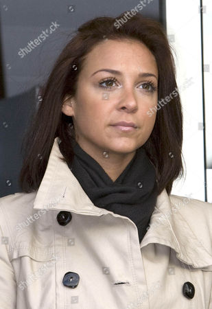 Maxine Hardcastle 23 arrives at Hove Crown Court