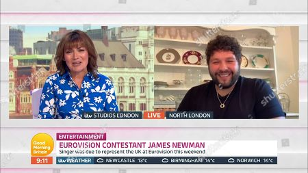 Editorial picture of 'Good Morning Britain' TV Show, London, UK - 15 May 2020