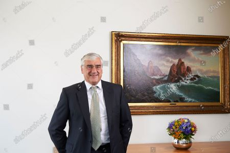 Editorial image of Sir Michael Hintze, Group Executive Chairman and Senior Investment Officer of CQS, London, UK - 04 Sep 2019