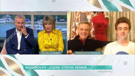 Stock Image of Eamonn Holmes, Ruth Langsford, Stefan Dennis and Declan Dennis