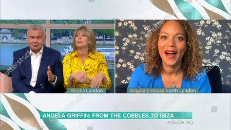 Eamonn Holmes, Ruth Langsford and Angela Griffin