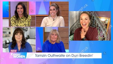 Christine Lampard, Stacey Solomon, Linda Robson, Coleen Nolan and Tamzin Outhwaite