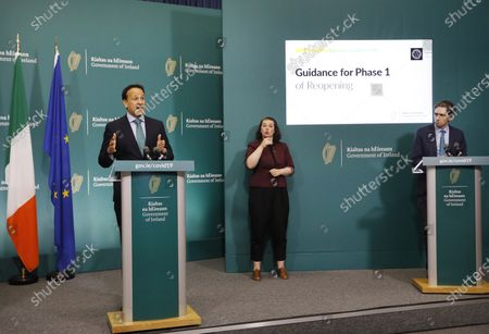 Editorial picture of Irish PM Varadkar coronavirus briefing, Dublin, Ireland - 15 May 2020