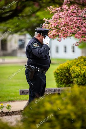 Editorial photo of Police Officers Honor Fellow Officers Killed in the Line of Duty, Sandusky, USA - 15 May 2020