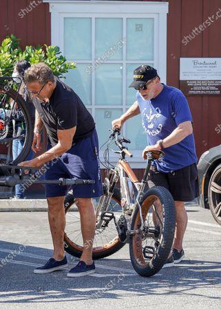 Ralf Moeller and Arnold Schwarzenegger