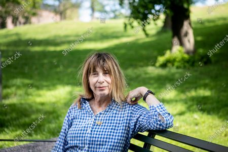 Stock Picture of American author writer Chris Kraus