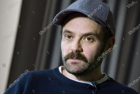 Stock Photo of Swedish / Danish actor David Dencik