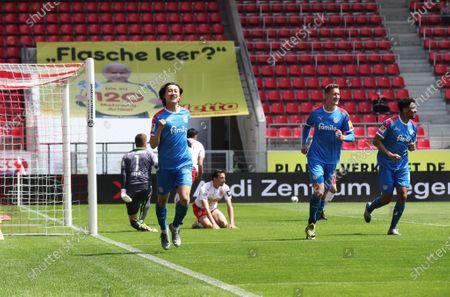 Ssv Jahn Regensburg V Holstein Kiel Stock Photos Exclusive Shutterstock