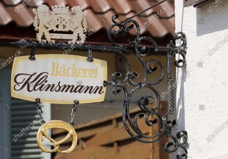 Editorial image of Closed Bakery Klinsmann in Stuttgart, Germany - 16 May 2020