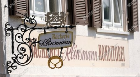 An view of a sign of the closed Klinsmann bakery and confectionery in Stuttgart, Germany, 16 May 2020. According to the media, the Klinsmann bakery will be closed on 01 June 2020 until further notice. The bakery was opened in 1978 by the parents of former professional footballer Juergen Klinsmann.