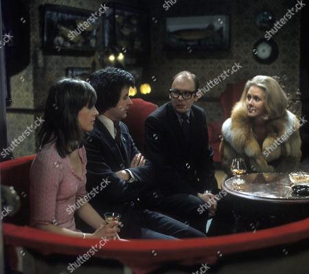 'Dear Mother.....Love Albert' TV Series - 1969 - 1972 - Liz Gebhardt as Doreen Bissell, Rodney Bewes as Albert Courtnay, Garfield Morgan as A.C. Strain.