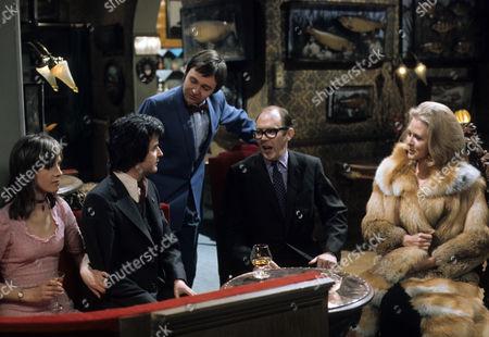 'Dear Mother.....Love Albert' TV Series - 1969 - 1972 - Liz Gebhardt as Doreen Bissell and Rodney Bewes as Albert Courtnay, Garfield Morgan as A.C. Strain.