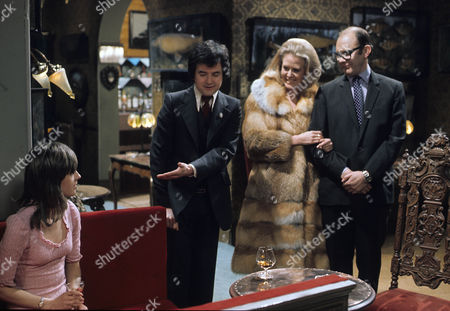 'Dear Mother.....Love Albert' TV Series - 1969 - 1972 - Liz Gebhardt as Doreen Bissell, Rodney Bewes as Albert Courtnay and Garfield Morgan as A.C. Strain