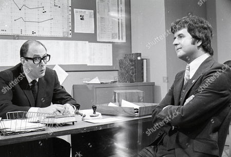 'Dear Mother.....Love Albert' TV Series - 1969 - 1972 - Garfield Morgan as A.C. Strain and Rodney Bewes as Albert Courtnay