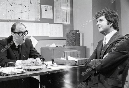 'Dear Mother.....Love Albert' TV Series - 1969 - 1972 - Garfield Morgan as A.C. Strain and Rodney Bewes as Albert Courtnay