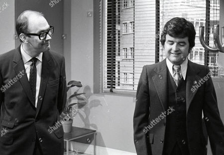 'Dear Mother.....Love Albert' TV Series - 1969 - 1972 - Garfield Morgan as A.C. Strain and Rodney Bewes as Albert Courtnay.