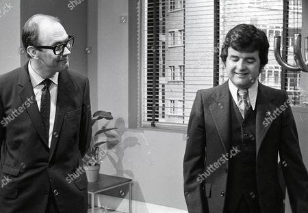 'Dear Mother.....Love Albert' TV Series - 1969 - 1972 - Garfield Morgan as A.C. Strain and Rodney Bewes as Albert Courtnay.