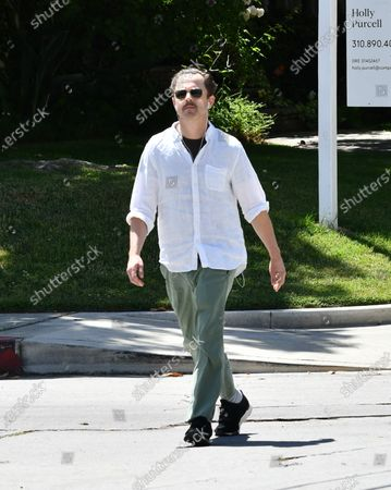Editorial picture of Giovanni Ribisi out and about, Los Angeles, USA - 16 May 2020