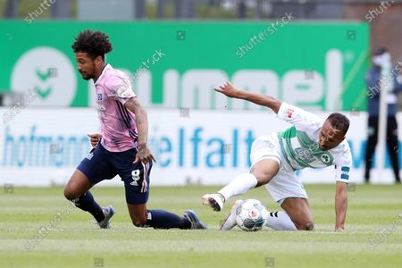 Editorial picture of SpVgg Greuther Fuerth vs Hamburger SV, Germany - 17 May 2020