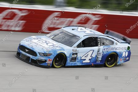 Kevin Harvick drives during the NASCAR Cup Series auto race, in Darlington, S.C
