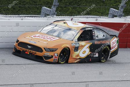 Ryan Newman (6) drives during the NASCAR Cup Series auto race, in Darlington, S.C