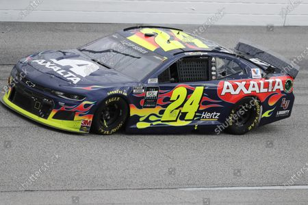 William Byron (24) drives during the NASCAR Cup Series auto race, in Darlington, S.C