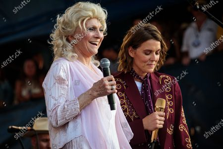 Judy Collins and Brandi Carlile