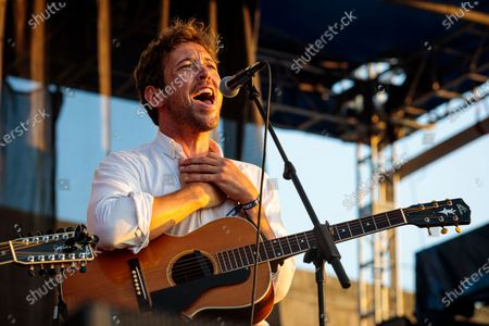 Robin Pecknold performs during 'If I Had A Song', the finale