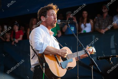 Stock Photo of Robin Pecknold performs during 'If I Had A Song', the finale