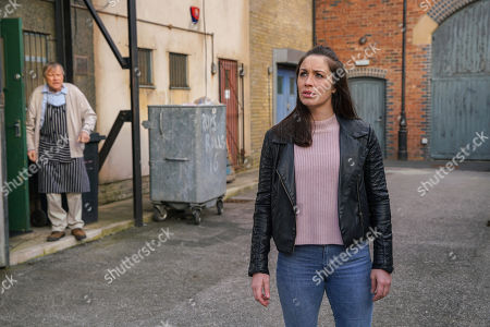 Ep 10069 Monday 1st June 2020 As the Platts look for Shona Platt, as played by Julia Goulding, Roy Cropper, as played by David Neilson, finds her lurking outside the cafe and ushers her in although it's clear she doesn't recognise him.