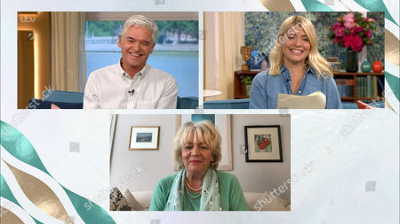 Phillip Schofield, Holly Willoughby and Alison Steadman