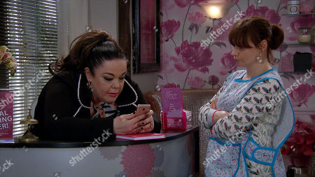 Ep 8794 Friday 22nd May 2020 Lydia Dingle, as played by Karen Blick, tells Mandy Dingle, as played by Lisa Riley, she thinks Vinny might have a lady friend.. And they both wonder if this Alex is actually a girl and soon Mandy is looking at his social media to see this Alex..