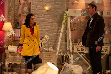 Ep 8795 Monday 25th May 2020 Leanna is making things up with Liam Cavanagh, as played by Jonny McPherson, but what does this mean for Leyla Harding, as played by Rokhsaneh Ghawam-Shahidi, and Liam's relationship?