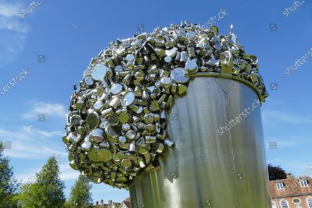 Stock Photo of 'When Soak Becomes Spill' by Subodh Gupta