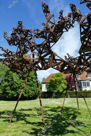 Stock Photo of 'Formation 1 The Dappled Light Of The Sun' by Conrad Shawcross
