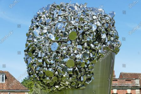 Stock Picture of 'When Soak Becomes Spill' by Subodh Gupta