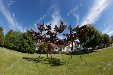 'Formation 1 The Dappled Light Of The Sun' by Conrad Shawcross