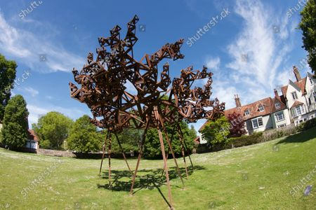 Stock Picture of 'Formation 1 The Dappled Light Of The Sun' by Conrad Shawcross