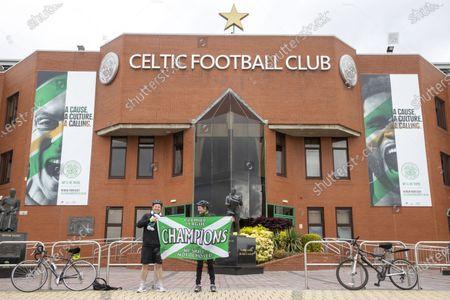 Celtic declared Scottish champions, Celtic Park, Glasgow