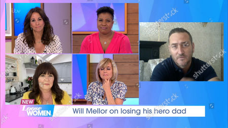 Andrea McLean, Jane Moore, Coleen Nolan, Brenda Edwards and Will Mellor