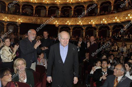 Michel Piccoli at the Bari International Film Festival